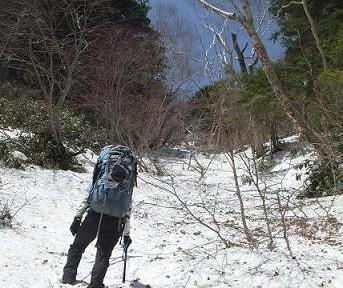 2008-5霞沢岳2